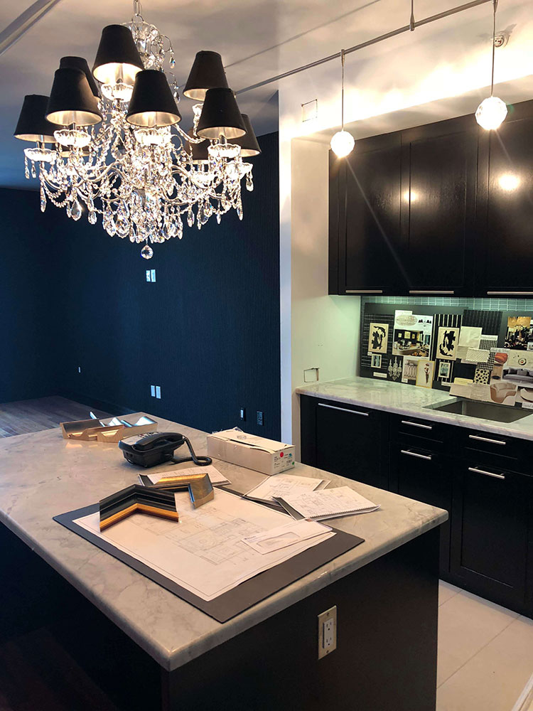 I Was Just Beginning To Work On My Latest Philadelphia Interior Design Project A Total Apartment Redesign At The Ritz Carlton In Center City